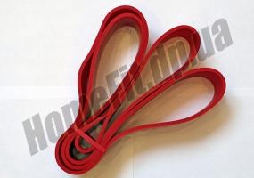Резиновые петли POWER BANDS-S «темно-красная» XL: фото 3