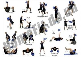 Сумка для кроссфита SandBag 10 / 30 / 50 / 70 кг: фото 1
