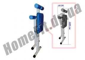 Скамья PRO для пресса (римский стул) и гиперэкстензии (тренажер спины) фото 4