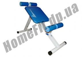 Скамья PRO для пресса (римский стул) и гиперэкстензии (тренажер спины) фото 2