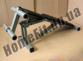 Скамья для жима и пресса МP-0027 с регулируемой спинкой и сидением