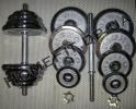 Гантели наборные хромированные 2 шт по 13,5 кг
