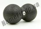 Двойной массажный мячик DuoBall Black 6664