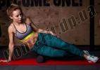 Ролик пенный для массажа Foam Roller 45 см фото 6