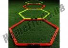 Тренировочный шестиугольник Soccer 4-12 ячеек