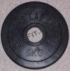 Блин обрезиненный олимпийский 5 кг (52 мм)