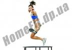 Фитнес батут с ручкой 50'' IronMaster: фото 4