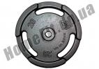 Блин литой PT-S для штанги 20 кг (26/31/52 мм)