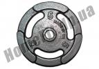 Блин литой PT-S для штанги 5 кг (26/31/52 мм)