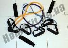 Эспандеры Resistance Bands от 2 до 23 кг с ручками