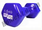 Гантели для фитнеса GoDo 1,5 кг: фото 9