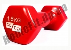 Гантели для фитнеса GoDo 1,5 кг: фото 11