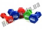 Гантели для фитнеса GoDo 1,5 кг: фото 1