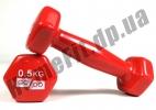Гантели для фитнеса GoDo 0,5 кг