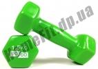 Гантели для фитнеса GoDo 1,5 кг: фото 4