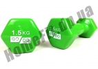 Гантели для фитнеса GoDo 1,5 кг: фото 5