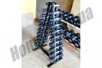 Гантельный ряд 1-10 кг МК-0110: фото 1