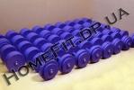 Гантельный ряд неразборной 6-50 кг (23 пары, шаг 2 кг)
