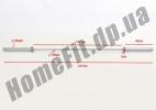 Гриф 2,2 м для кроссфита OB86PM до 350 кг: фото 6