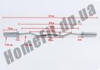 Гриф EZ с подшипниками для олимпийской штанги OB-47C2:фото 6