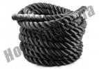 Канат для кроссфита COMBAT BATTLE ROPE 12 м Ø50 мм: фото 1
