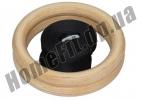 Кольца для кроссфита и гимнастики деревянные