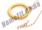 Кольца для гимнастики детские деревянные 4456: фото 6