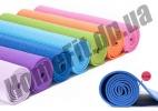 Yoga mat PVC 4÷6 мм + чехол