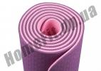 Коврик для йоги TPE, фитнеса, пилатеса, йогамат, фото 5