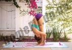 Коврик ZS для йоги из замши с каучуком: фото 56
