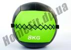 Медицинский набивной мяч (медбол, волбол) Wall Ball от 3 до 10 кг: фото 4