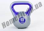 Фитнесс-гиря RA пластиковая, от 1 до 16 кг: фото  11