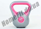 Фитнесс-гиря RA пластиковая, от 1 до 16 кг: фото  2