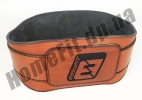 Пояс атлетический EasyFit Training Belt (кожа) EF-3359-BR: фото 7