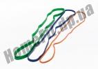 Резиновые петли для фитнеса и тренировок в наборе из 3 шт: фото 5