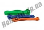 Резиновые петли для фитнеса и тренировок в наборе из 3 шт: фото 6