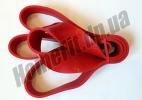 Резиновые петли POWER BANDS-S «темно-красная» XL: фото 5