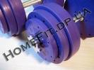 """Набор """"Титан"""" ПРО 45 кг - разборная гантель с блинами 5, 3 и 1 кг"""