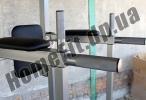 Тренажер «Турник-Брусья-Пресс» MP-0070: удобные подлокотники и брусья