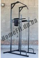 Турник-Брусья-Пресс MH-0035: стойка напольная