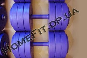 весовой ряд гантелей 6-50 кг купить в Украине