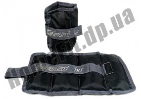Утяжелители для рук и ног FI-2072 (манжеты): 1 кг