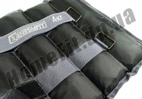 Утяжелители для рук и ног FI-2072 (манжеты): 4 кг