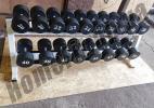 Гантельные ряды 12-70 кг MK-1320 (шаг 2-5 кг)